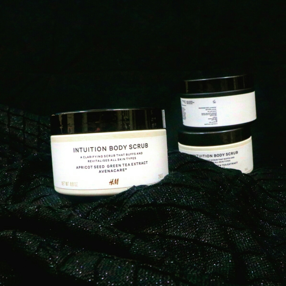 Intuition body scrub by H&M
