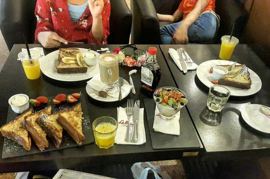 Breakfast at La brioche,Dalma Mall,AbuDhabi